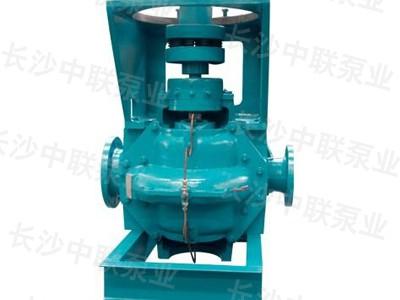 SLA型单级双吸立式中开泵